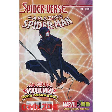 Amazing Spider-Man #10 Ultimate Spider-Man Web Warriors 1:10 Variant