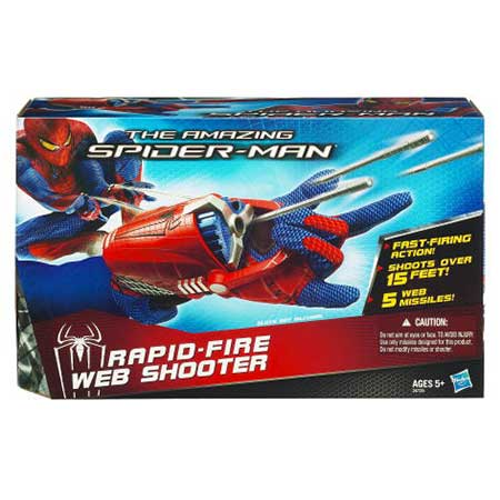Amazing Spider-Man Rapid Fire Web Shooter