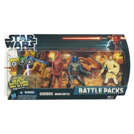 Star Wars Battle Packs Geonosis Arena Battle