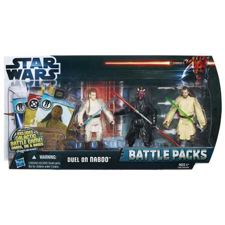 Star Wars Battle Packs Duel On Naboo