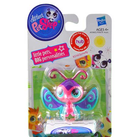Littlest Pet Shop #2740 Butterfly