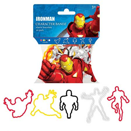 Marvel Character Bandz Iron Man