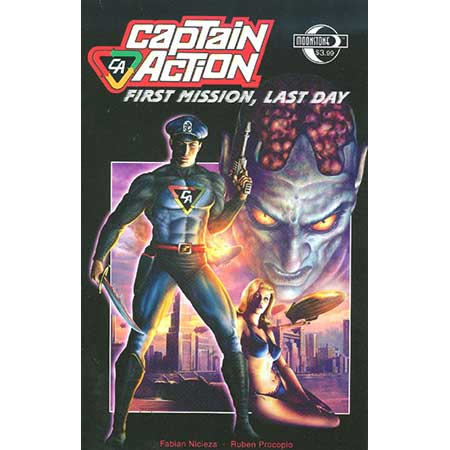 Captain Action First Mission Last Day