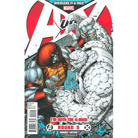 Avengers Vs X-Men #5 X-Men Team Var