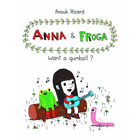 Anna And Froga Want A Gumball