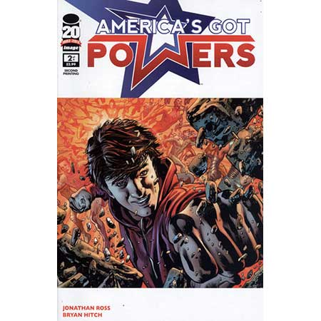 Americas Got Powers #2 2nd Ptg