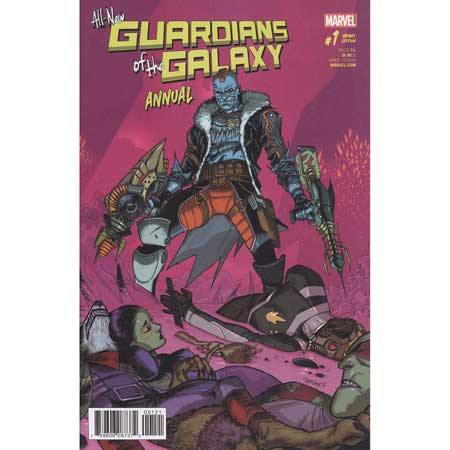 All New Guardians Of Galaxy Annual #1 Mora Variant
