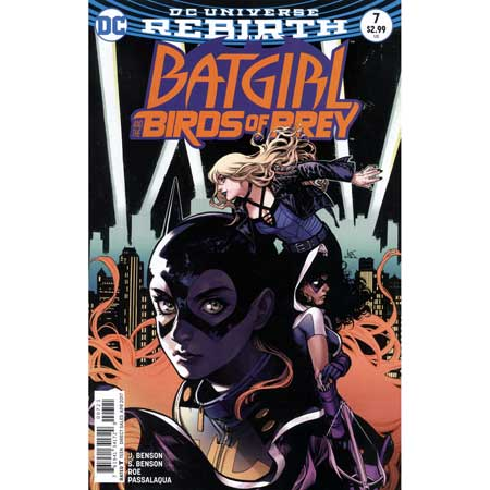 Batgirl And The Birds Of Prey #7 Variant