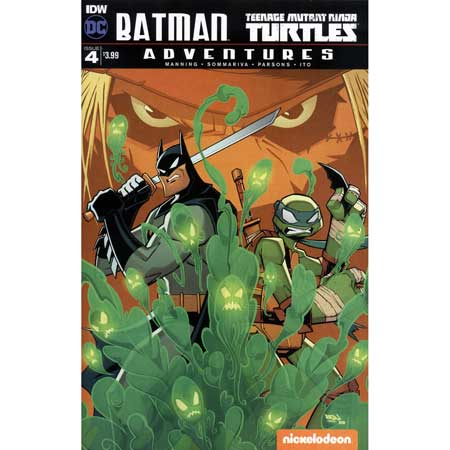 Batman Teenage Mutant Ninja Turtles Adventures #4