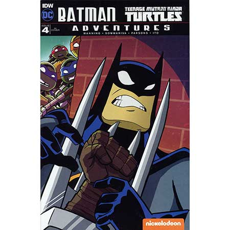 Batman Teenage Mutant Ninja Turtles Adventures #4 Incentive 1:10 Variant