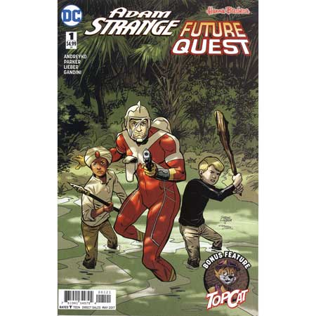 Adam Strange Future Quest Special #1 Variant Edition