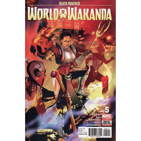Black Panther World Of Wakanda #5