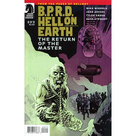 B.P.R.D. Hell On Earth Return Of The Master #2