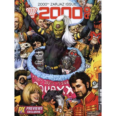 2000 Ad Prog #2000 Previews Exclusive Exclusive Cover