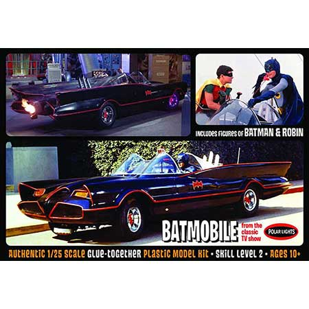 1966 Batman Batmobile 1/25 Scale Model Kit