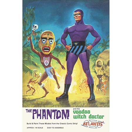 Phantom And Witch Doctor Model Kit