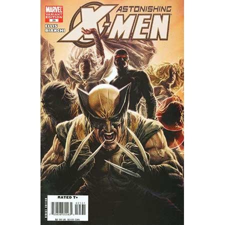 Astonishing X-Men #25 Bermejo Var