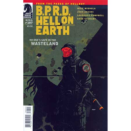 B.P.R.D. Hell On Earth #107 Wasteland #1