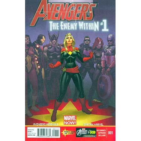 Avengers Enemy Within #1