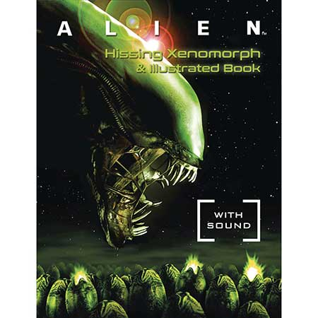 Alien Hissing Xenomorph & Illustrated Book Kit W/ Sound