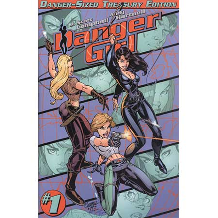 Danger Girl Danger Sized Treasury Ed