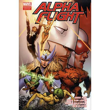Alpha Flight By Pak And Van Lente Vol 1