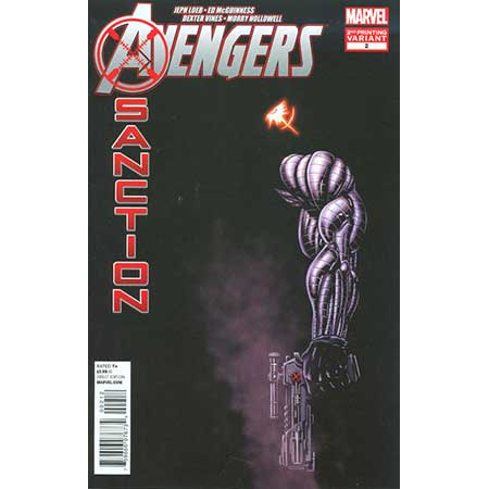 Avengers X-Sanction #2 2nd Ptg