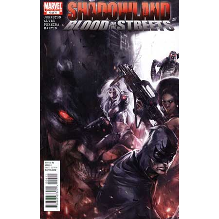 Shadowland Blood On Streets #4