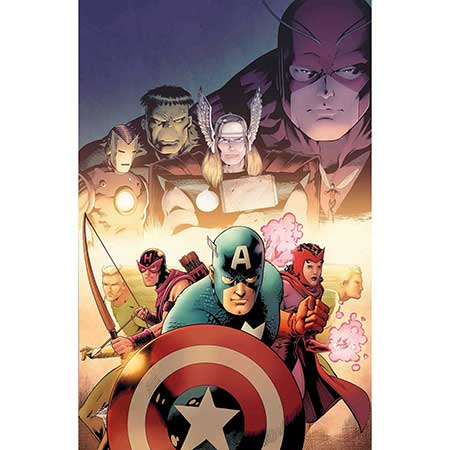 Avengers #1.1 by Kitson Poster