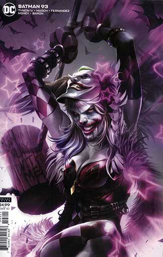 Batman #93 Card Stock Francesco Mattina Variant