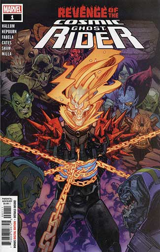 Revenge Of Cosmic Ghost Rider #1
