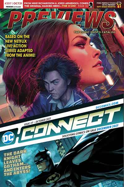 Previews October Comic Book catalog pre-orders
