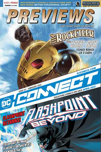 Previews February Comic Book catalog pre-orders