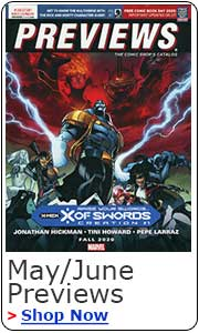 Previews May/June Comic Book catalog pre-orders