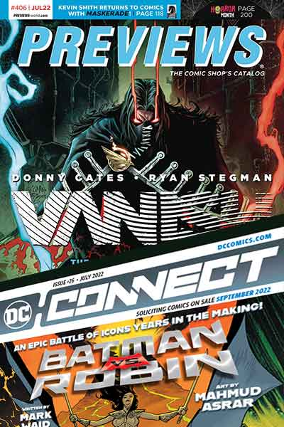 Previews July Comic Book catalog pre-orders