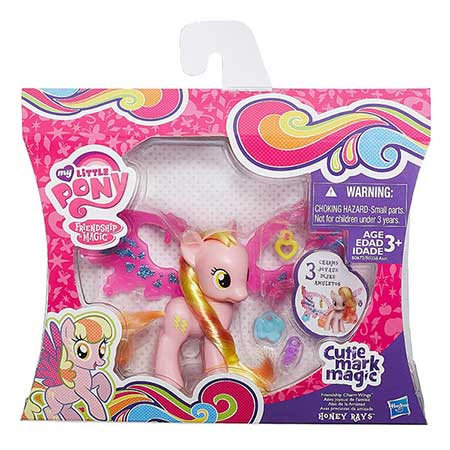 My Little Pony Cutie Mark Magic Friendship Charm Wings Honey Rays Figure