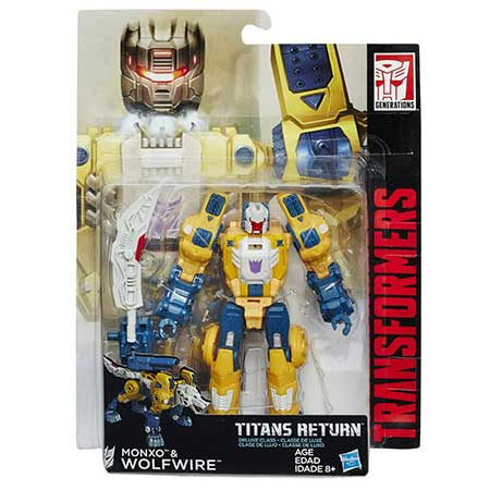 Transformers Generations Titans Return Monxo & Wolfwire