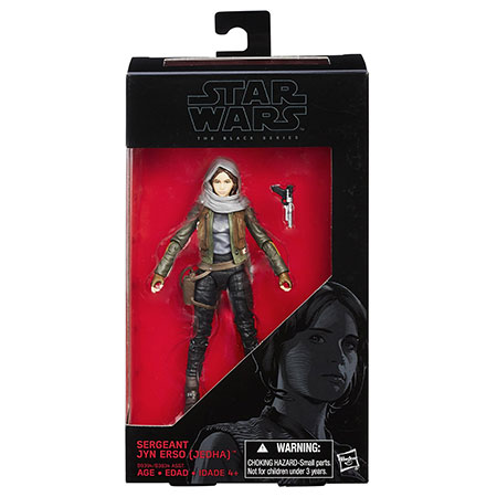 Star Wars The Black Series 6-Inch Sergeant Jyn Erso