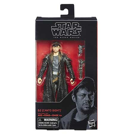 Star Wars The Black Series DJ (Canto Bight)