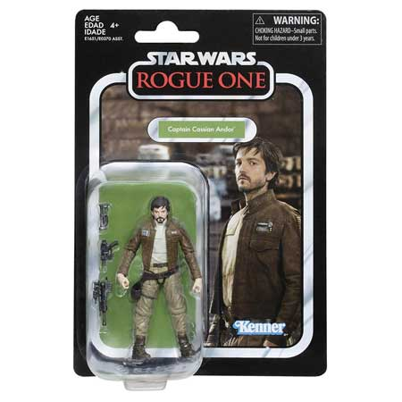 Star Wars The Vintage Collection Captain Cassian Andor, 3.75-inch Action Figure