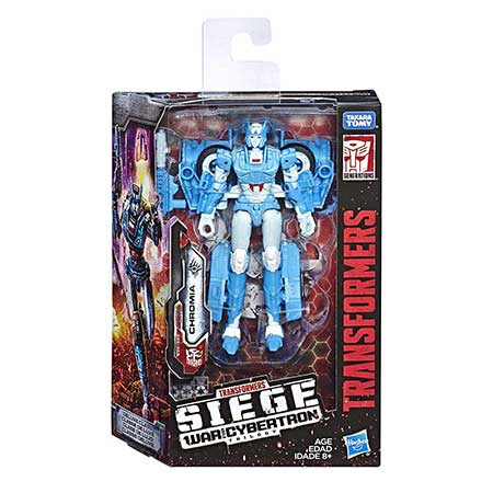 Transformers Generations Siege Deluxe Chromia Action Figure