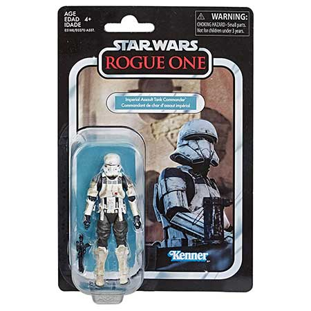 Star Wars Vintage Collection Rogue One A Story Imperial Assault Tank Commander 3.75