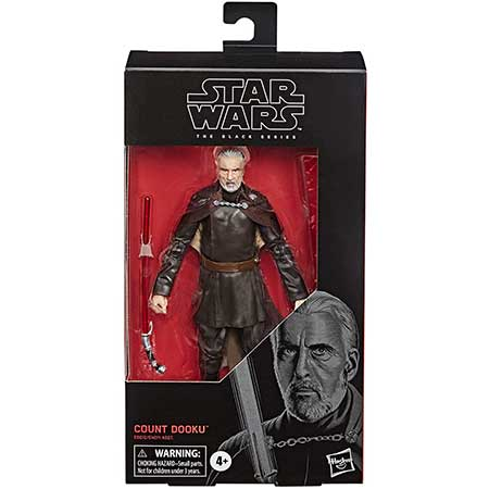 Star Wars The Black Series Count Dooku Figure