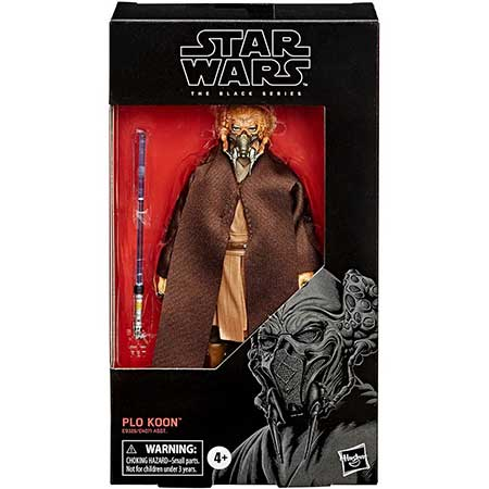 Star Wars Black Series Plo Koon Figure
