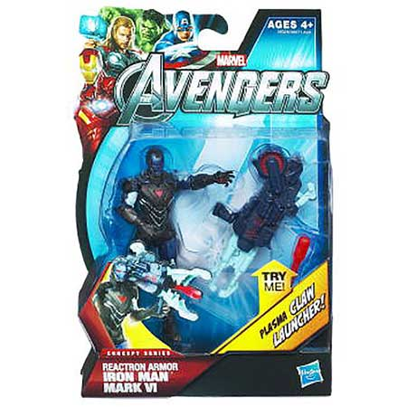 Avengers Reactron Armor Iron Man Action Figure