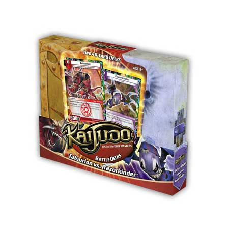 Kaijudo Tatsurion vs Razorkinder Battle Deck