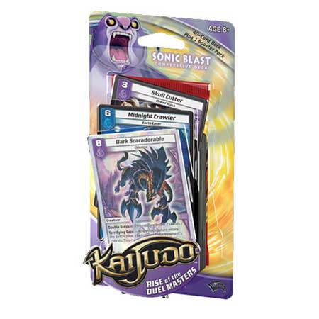 Kaijudo Rise of the Duel Masters Sonic Blast Deck