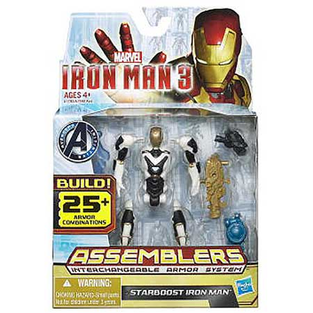 Iron Man 3 Assemblers Starboost Iron Man Action Figure