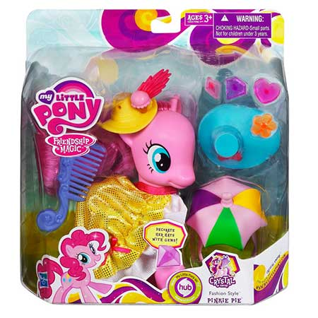 My Little Pony Fashion Style Crystal Empire Pinkie Pie