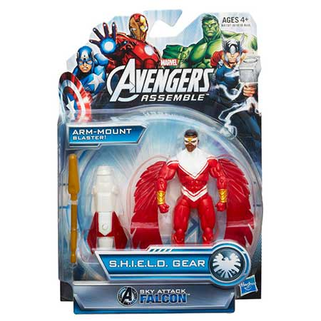 Avengers Sky Attack Falcon Action Figure